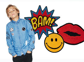 Trend: patches op kleding