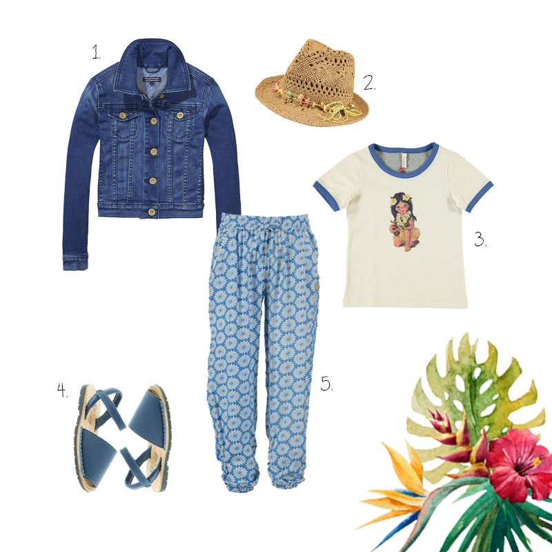 Look of the Day: Hawaii Blue