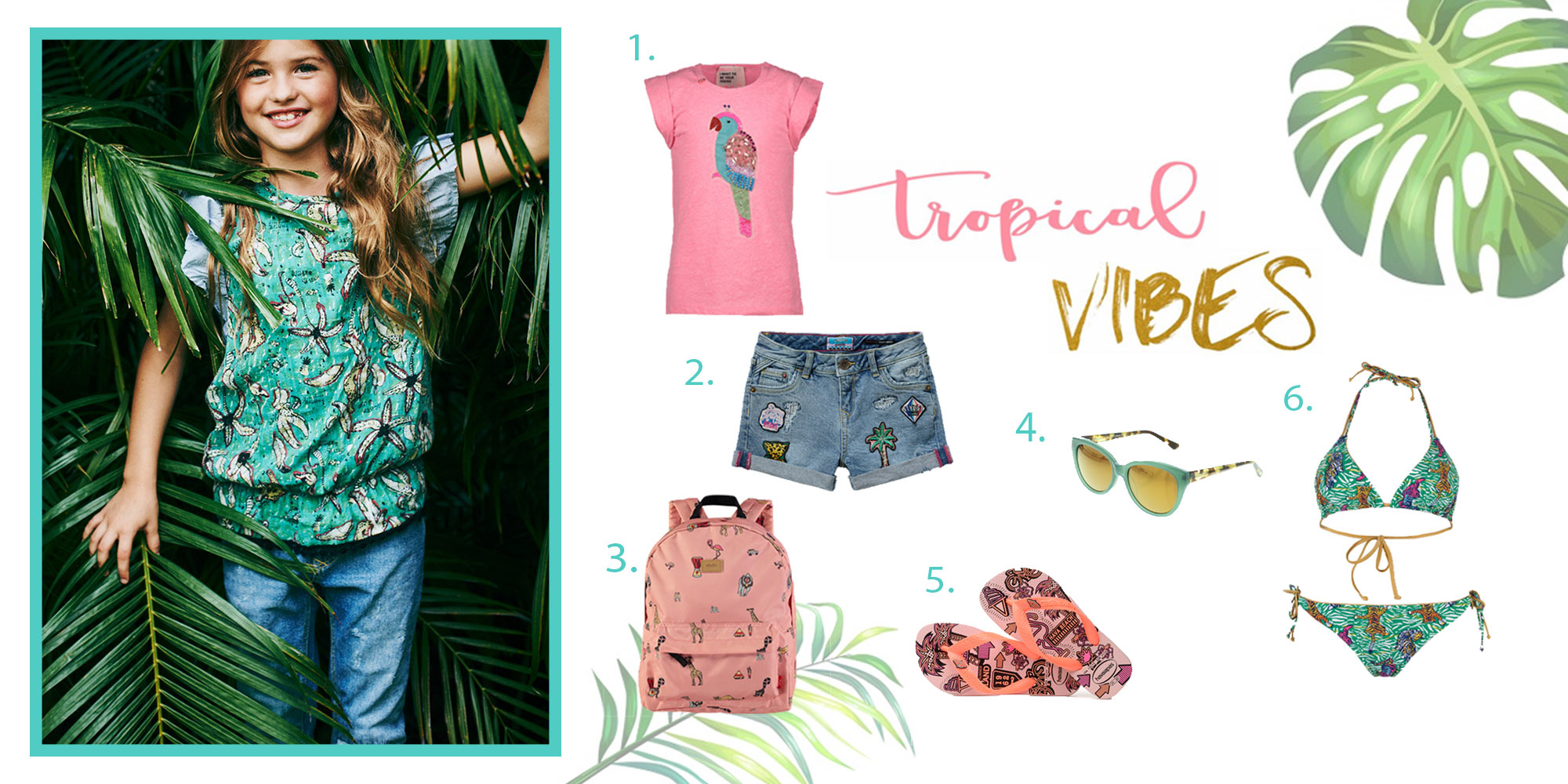 Shopping: tropical vibes-items